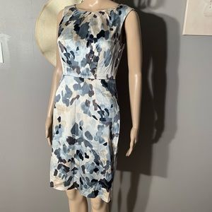 "Ann Taylor Size 0 Silk Elegant Dress Length 37"""